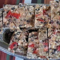 No bake fruitcake that will change your opinion of fruitcake. This is a southern classic and well kept secret.
