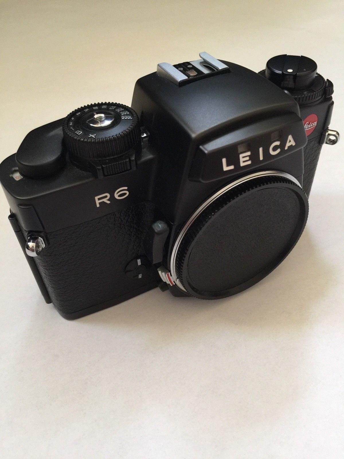 Medium Crop Of Leica Film Camera