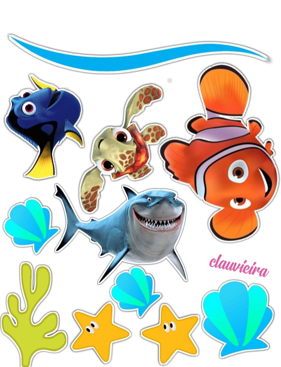 Ikan Nemo Png : Ikan,, Gambar, Coretan,