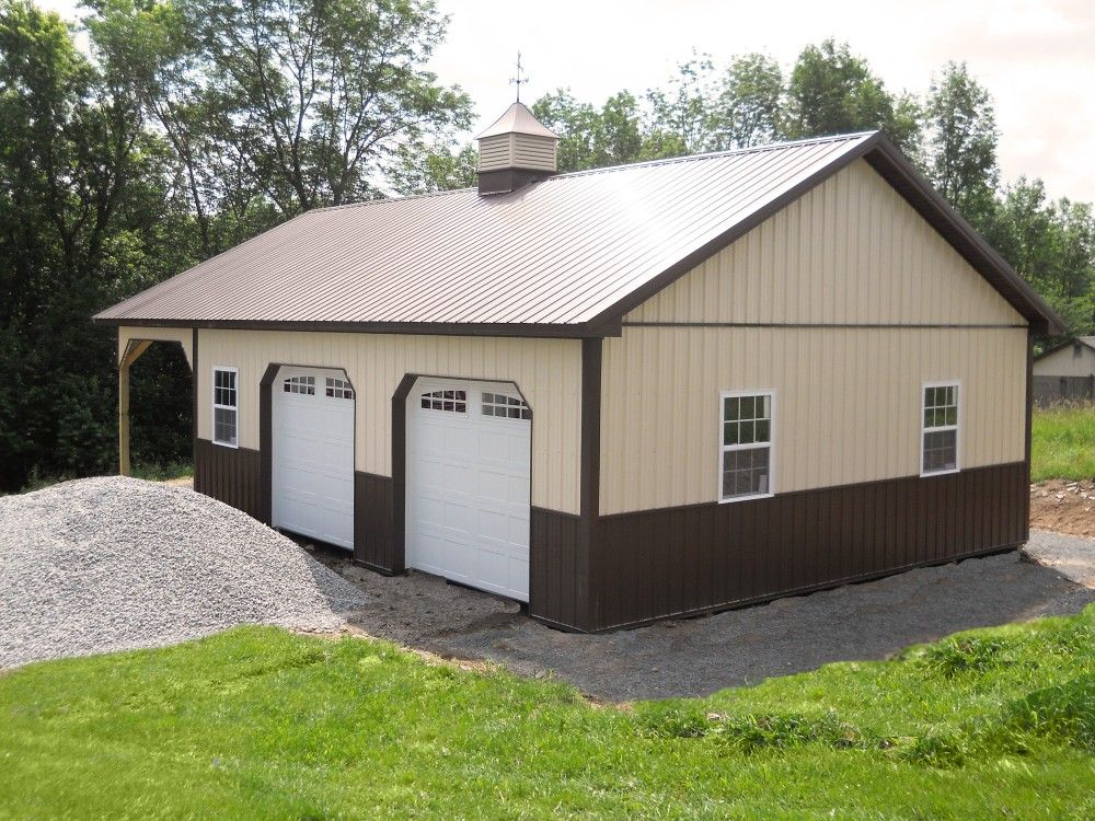 Building dimensions 28 w x 44 l x 10 h id 379 visit for Garage building prices