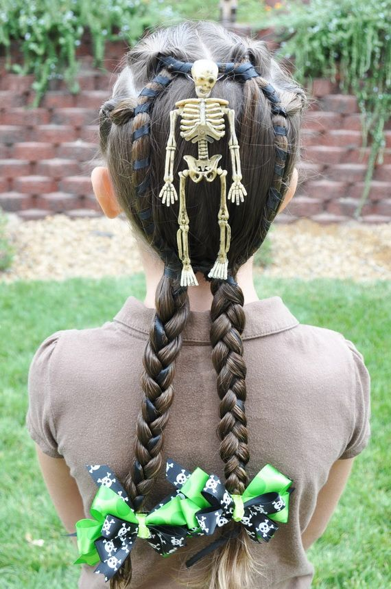 Wacky Christmas Hairstyles For School Kids Crazy Hair Day