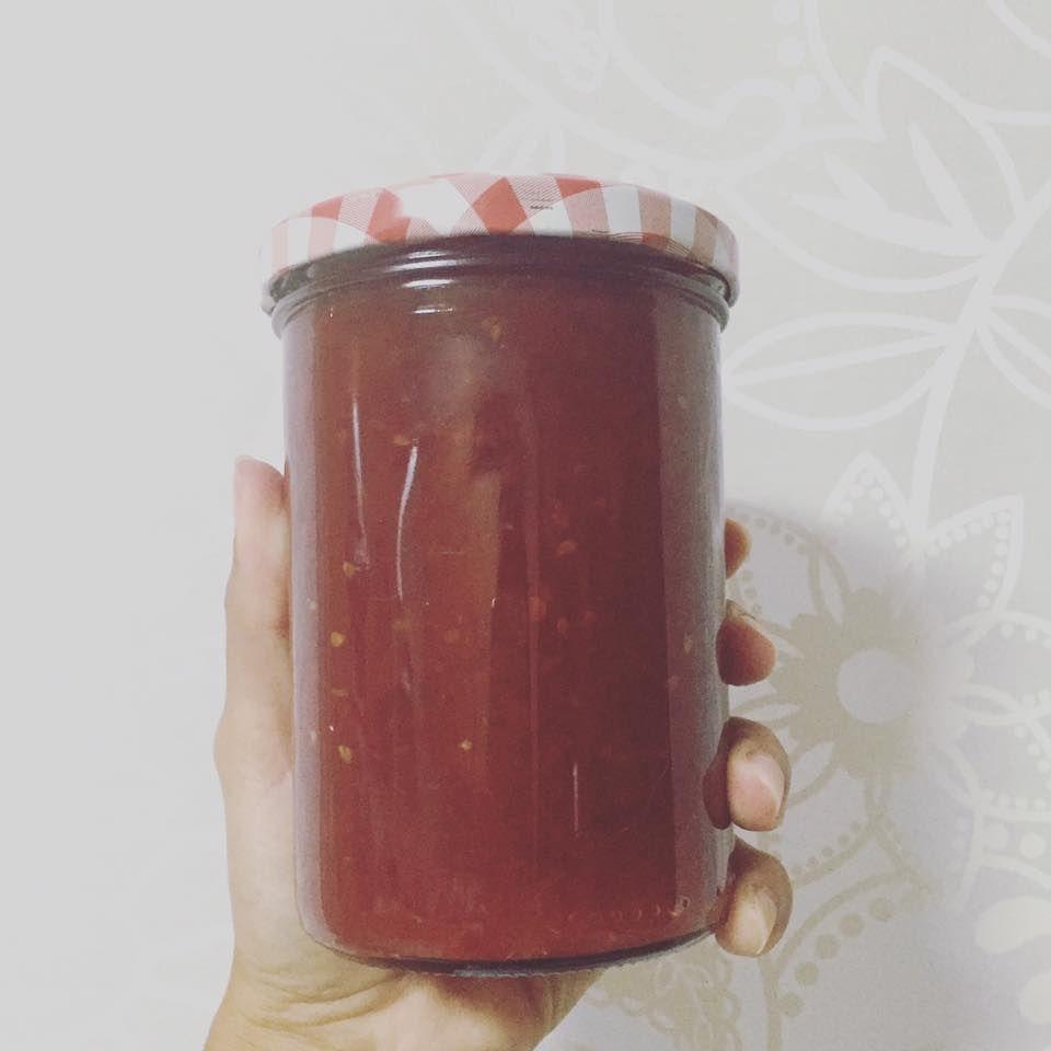 The Brunette's Tofu: Ideias saudáveis: doce de tomate caseiro