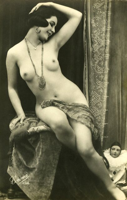 women 1920 vintage nude