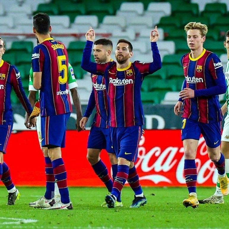 Barcelona Vs Real Betis Highlights 07 February 2021 In 2021 Barcelona Players Barcelona Leo Messi