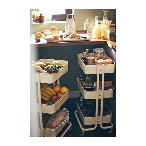 RÅskog Utility Cart, Beige | Home Accessories, Extra Storage And ... Beige Wei Ikea
