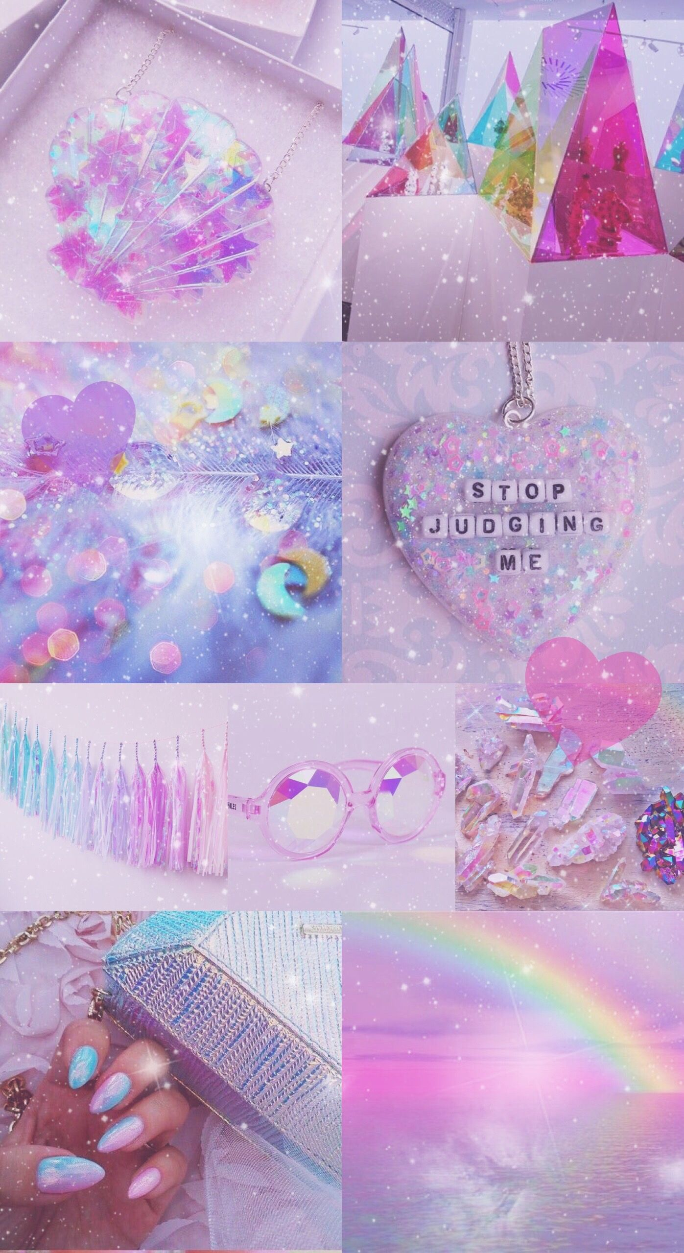 Iridescent wallpaper background iphone pretty pink - Purple glitter wallpaper hd ...