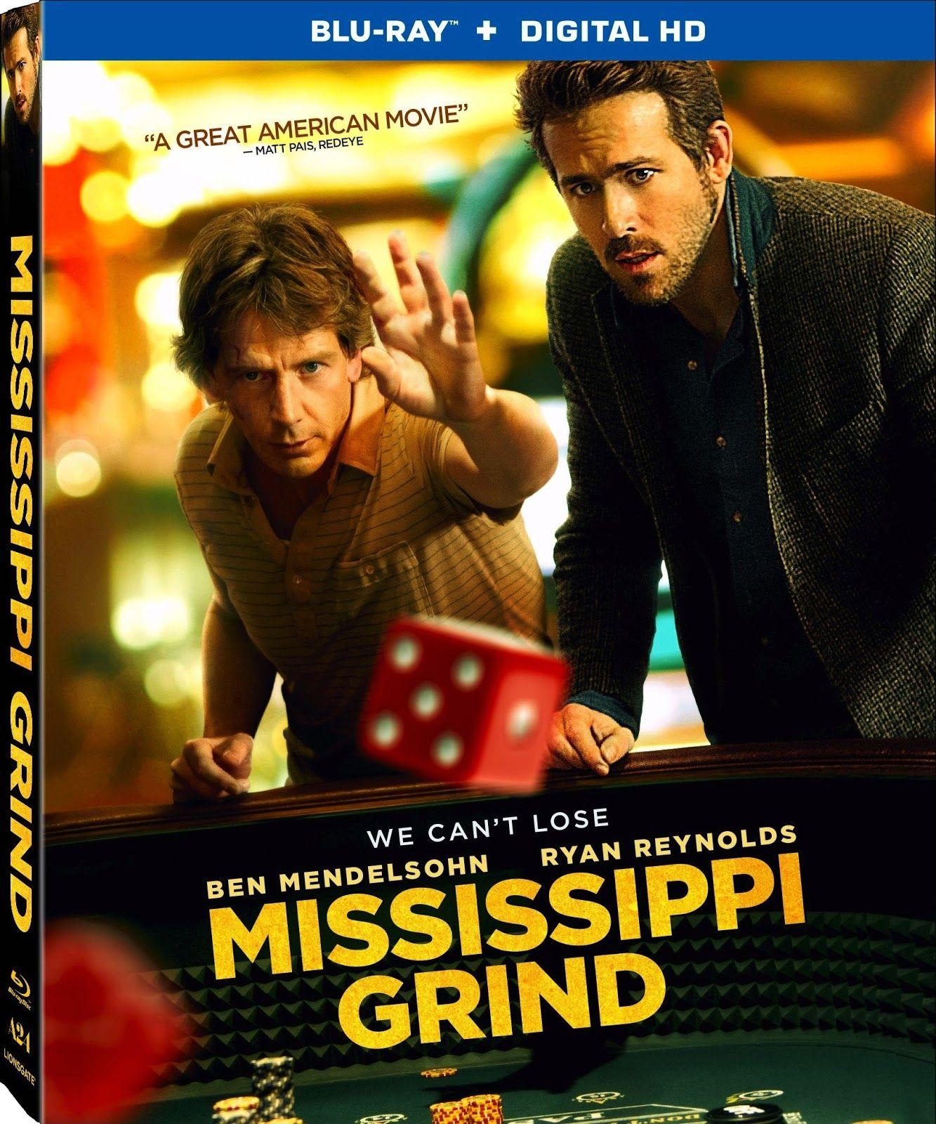 DVD & BluRay MISSISSIPPI GRIND (2015) Ryan reynolds