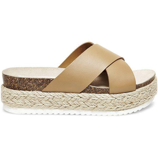 Steve Madden Women's Arran Platform Sandals (105 485 LBP) ❤ liked on  Polyvore featuring