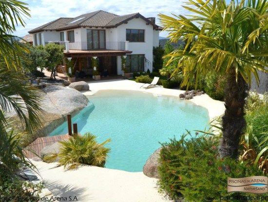 Heavenly Beach Entry Pool Ideas | Pool designs, Beach and Beach ...