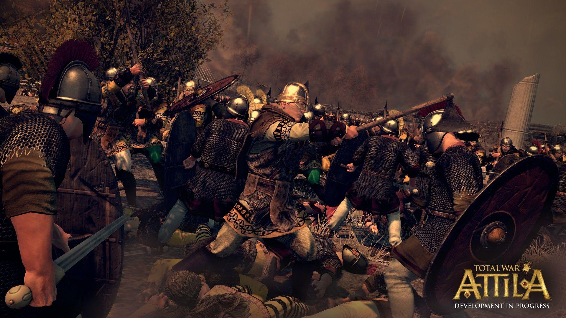 Total War Attila Wallpaper http//www.cartoonography
