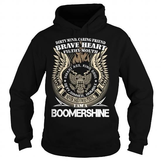 Cool BOOMERSHINE - Never Underestimate the power of a BOOMERSHINE