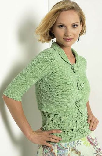 so feminine! CROCHET INSPIRATION more: http://pinterest.com/gigibrazil/crochet-and-knitting-lovers/