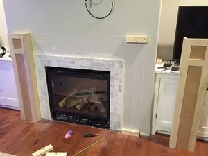 How To Build A Shaker Fireplace Mantel And Surround Woodworking