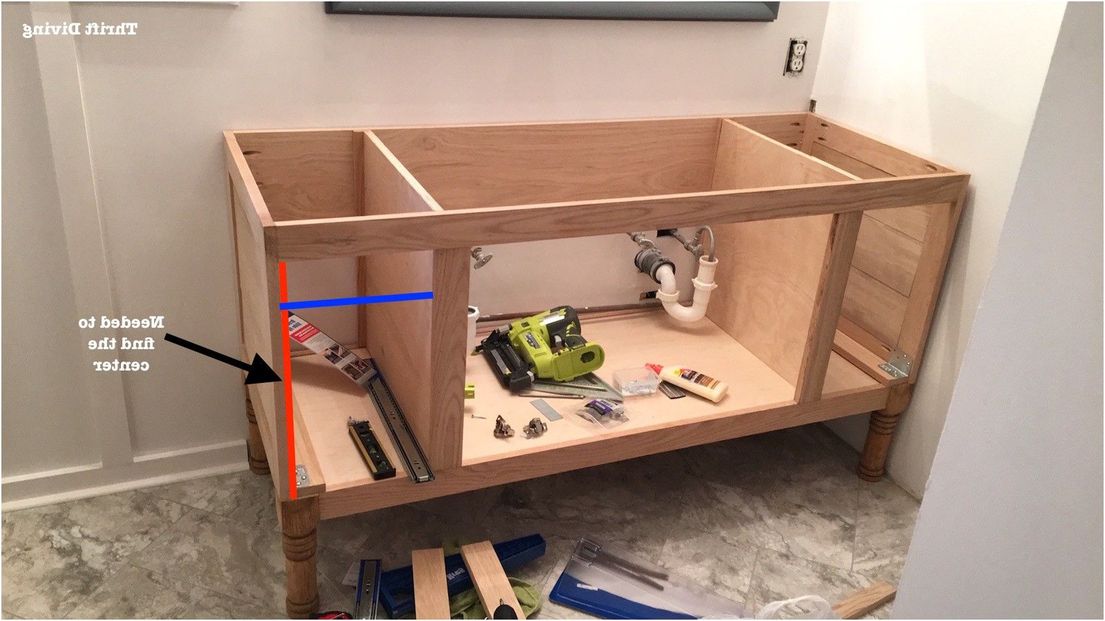 Build A Diy Bathroom Vanity Part 4 Making The Drawers From Build Bathroom  Cabinets