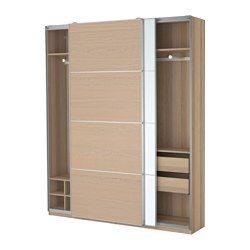 pax kleiderschrank schnappbeschlag ikea wohnideen pinterest zuhause ikea und. Black Bedroom Furniture Sets. Home Design Ideas