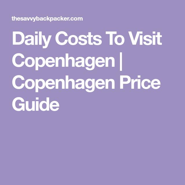 Labelkemasan: Daily Costs To Visit Copenhagen