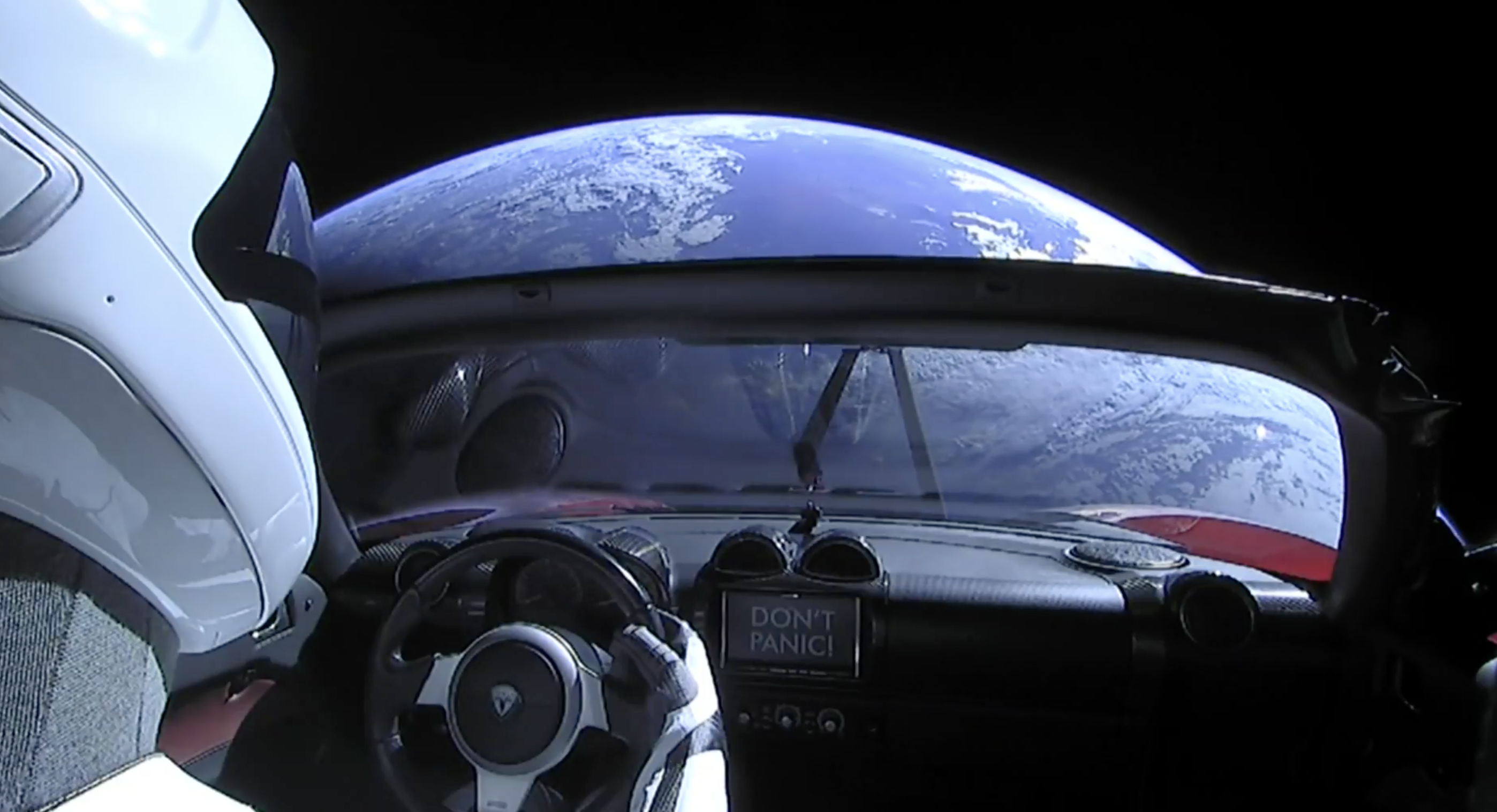 decb1732e Watch the live feed from SpaceX's Roadster-driving Starman in space ...
