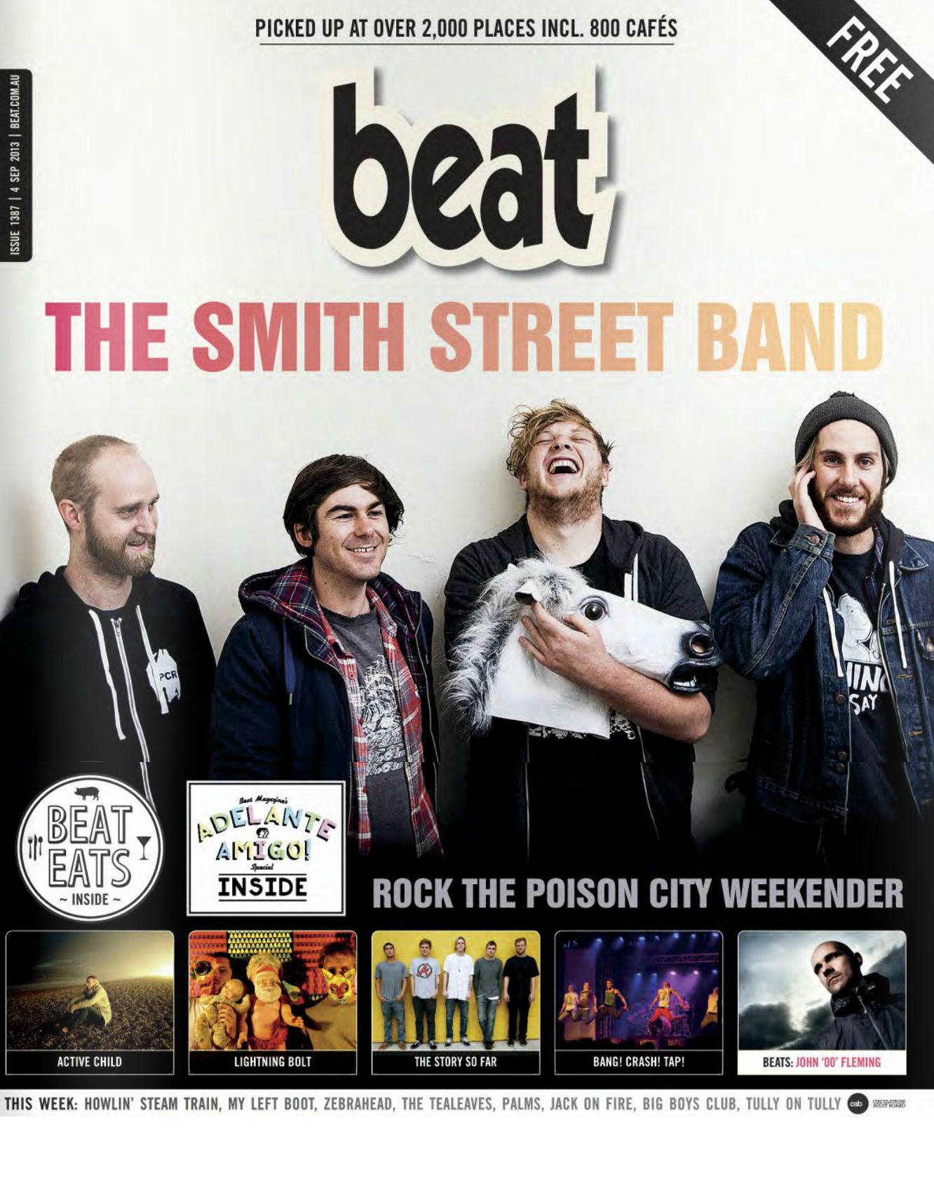 Beat Magazine Cover! September 4th, 2013 Free beats