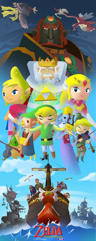Zelda wind waker historia en el mar by zeldanatico on deviantart