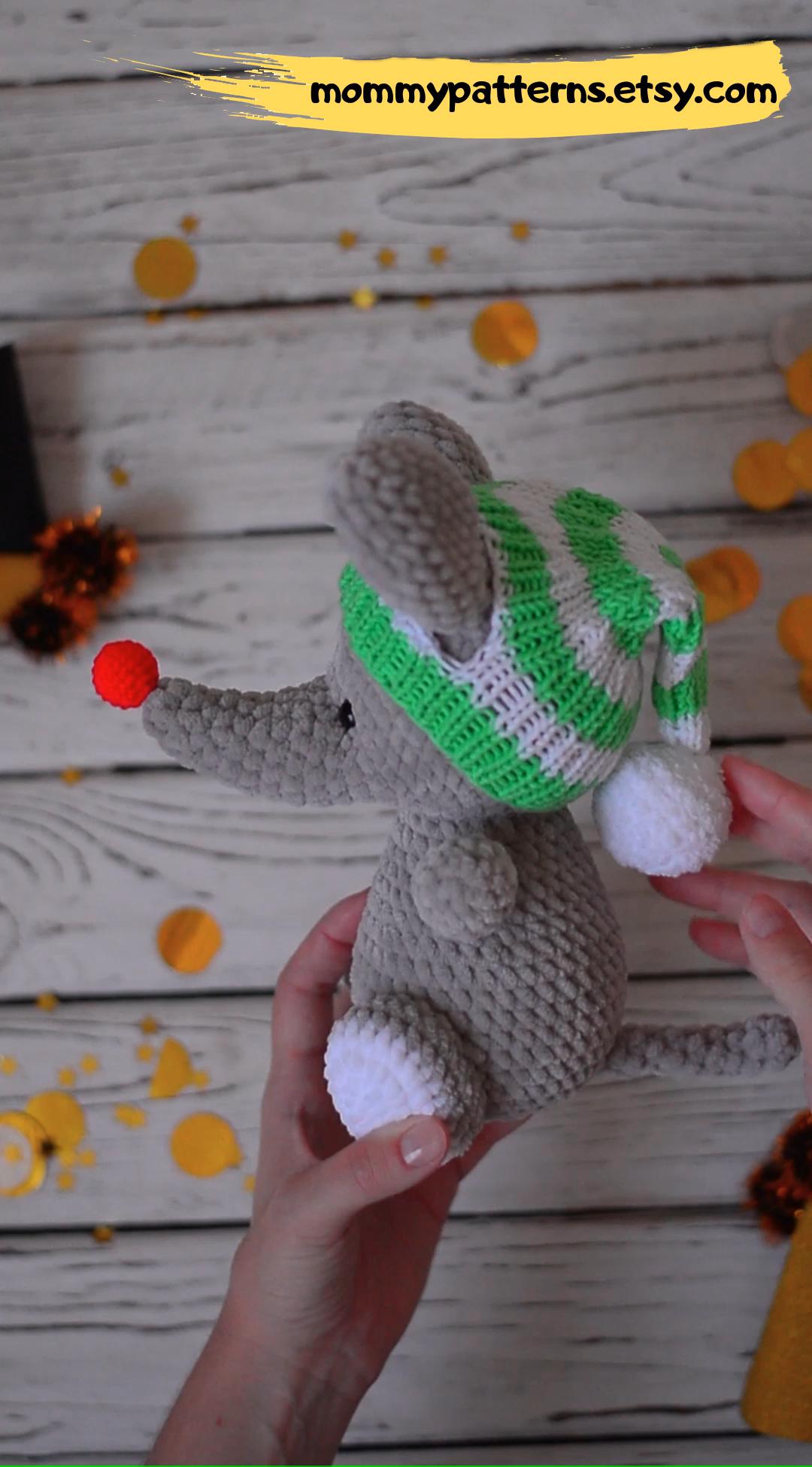 Crochet Pattern Mouse Crochet Pattern Mouse Amigurumi Etsy Video Video Crochet Patterns Amigurumi Pattern Crochet