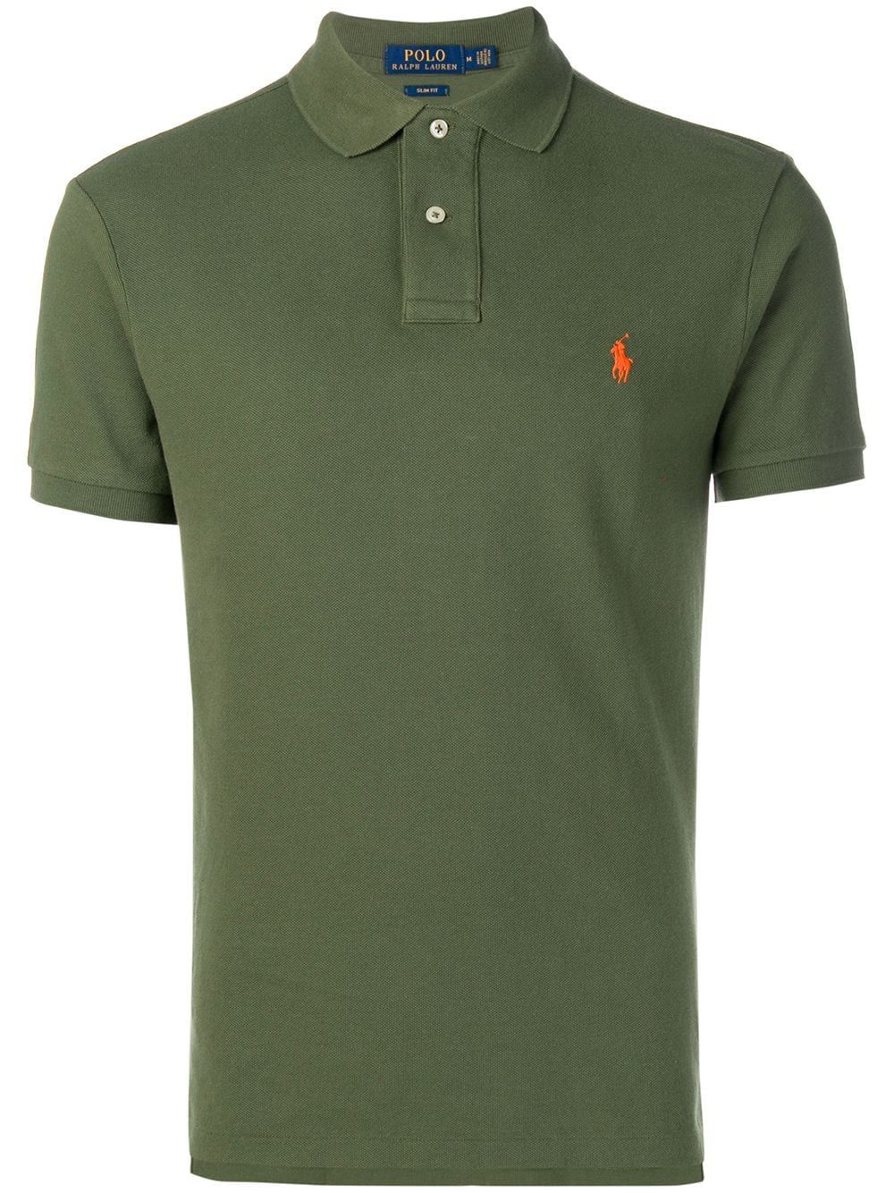 73a5ad65ab POLO RALPH LAUREN POLO RALPH LAUREN SLIM-FIT POLO SHIRT - GREEN.  #poloralphlauren #cloth