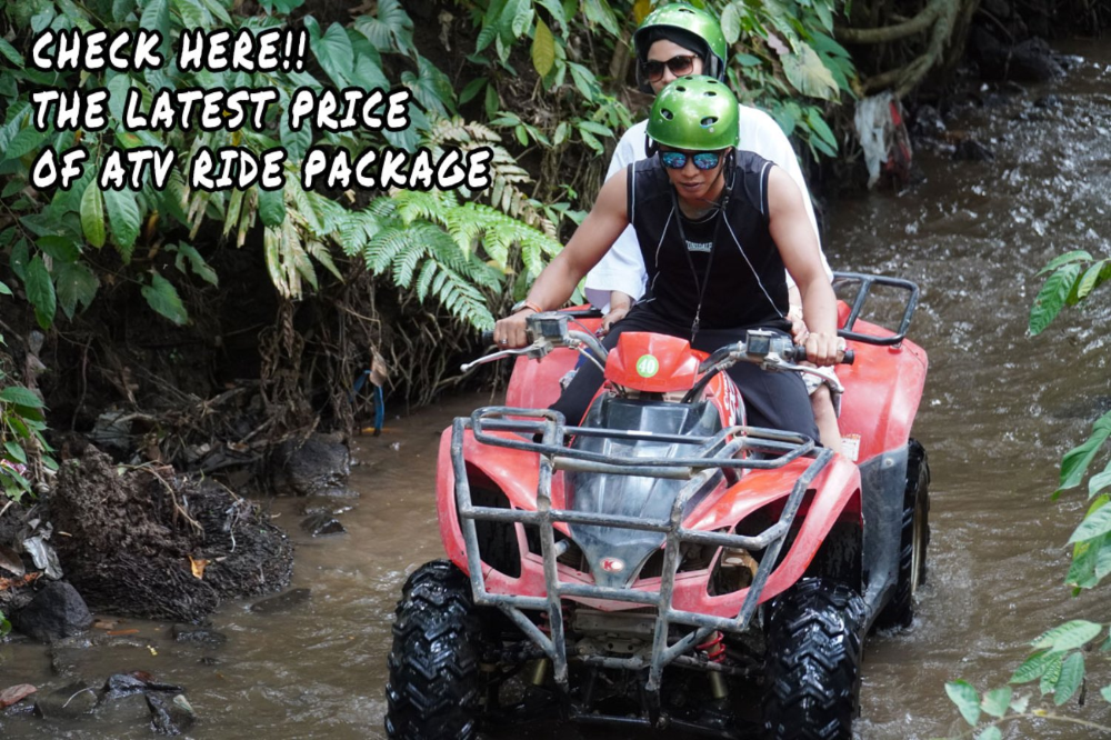 Check Here The Latest Price Of Atv Ride Package In Ubud Di 2020