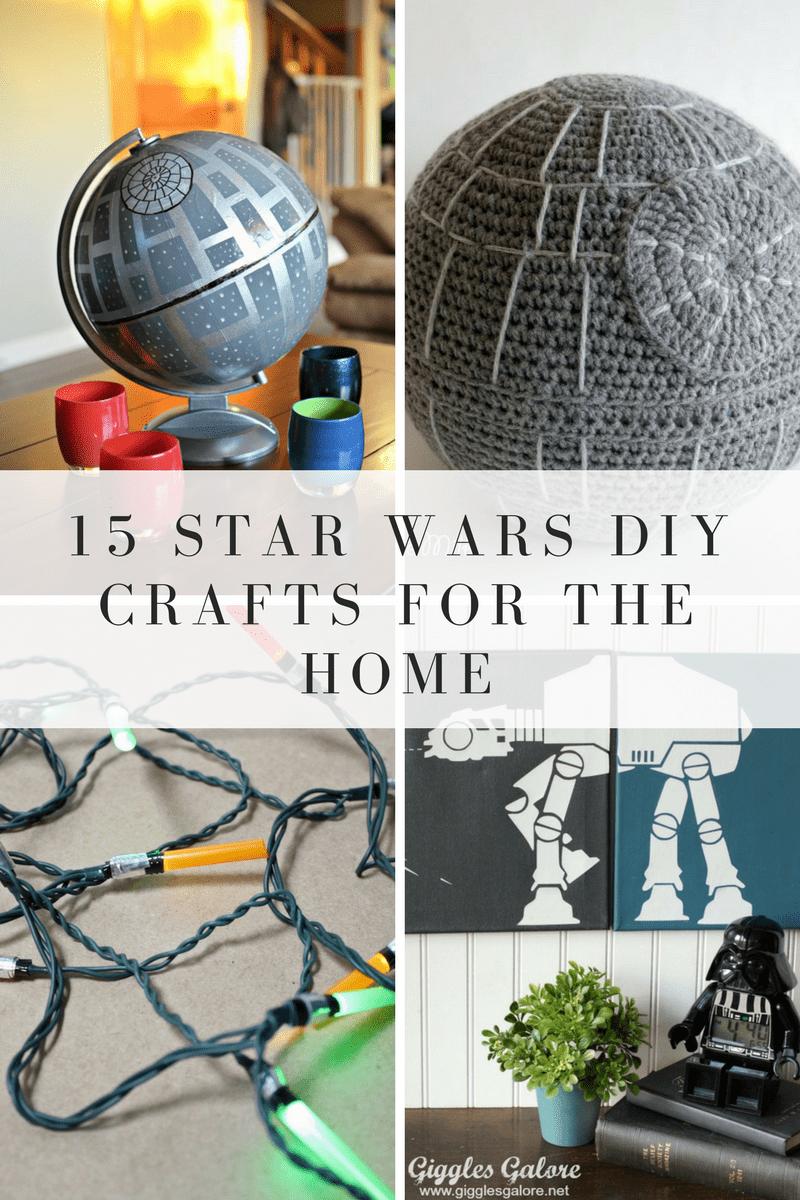 15 Star Wars Crafts For Your Home | Pinterest | Star wars crafts ...