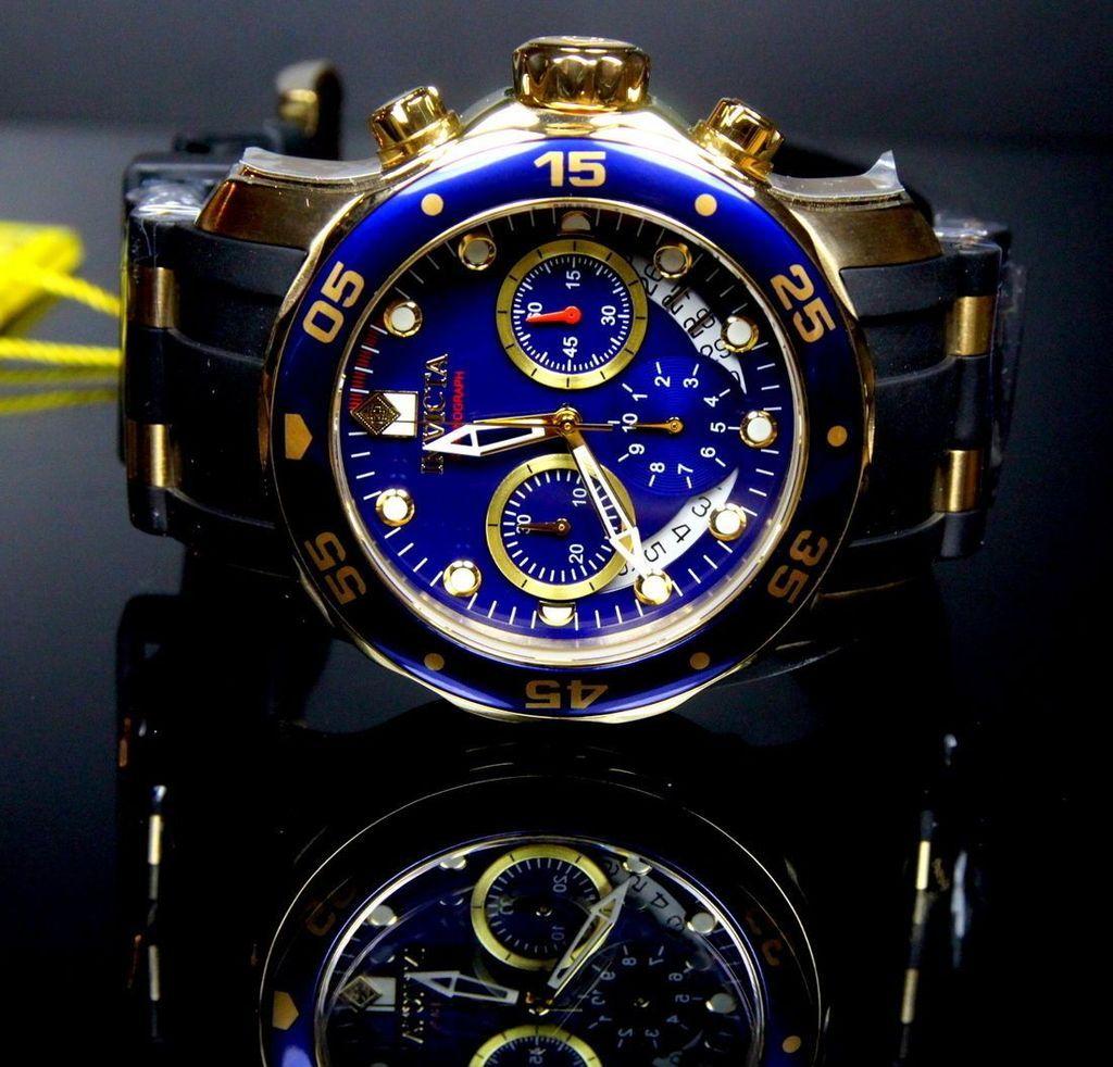 55a369873a8 Comparación de precios de Relógio Invicta Scuba Diver 6983 Banhado Á Ouro  18k en…