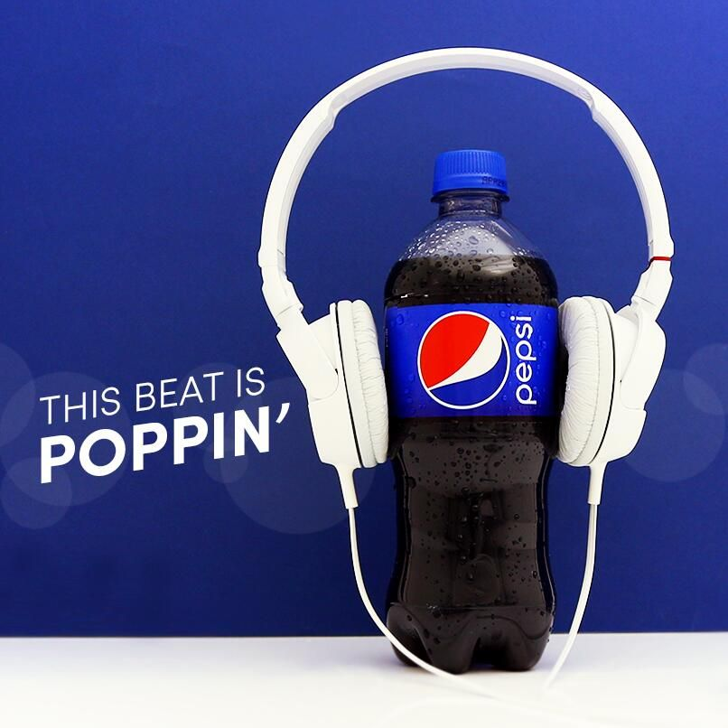 Pepsi fan check. What are you listening to?