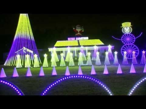 Youtube Christmas Light Show Christmas Lights Holiday Lights Display
