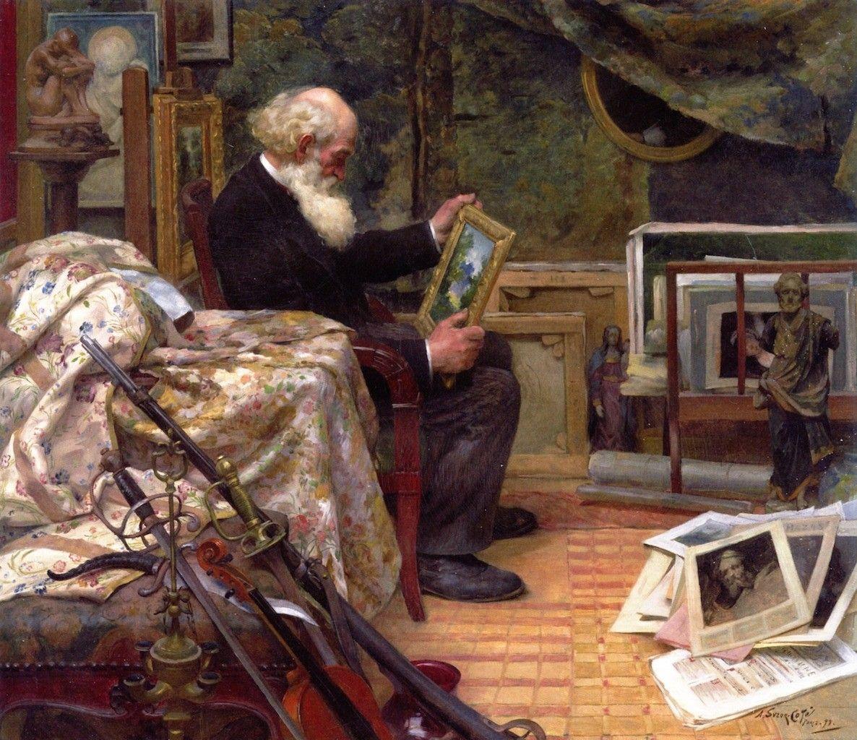 The Art Lover (1899). MarcAurèle de Foy SuzorCoté