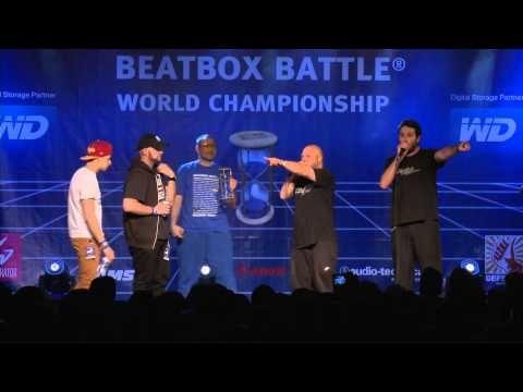 Fabulous Wadness vs 4xSample - 1/2 Final - 4th Beatbox Battle World Cham...