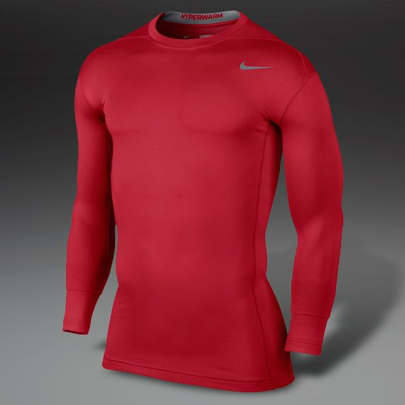 Nike Hyperwarm Gloves Sports Direct: Nike Hyperwarm Dri-Fit Compression Crew 2