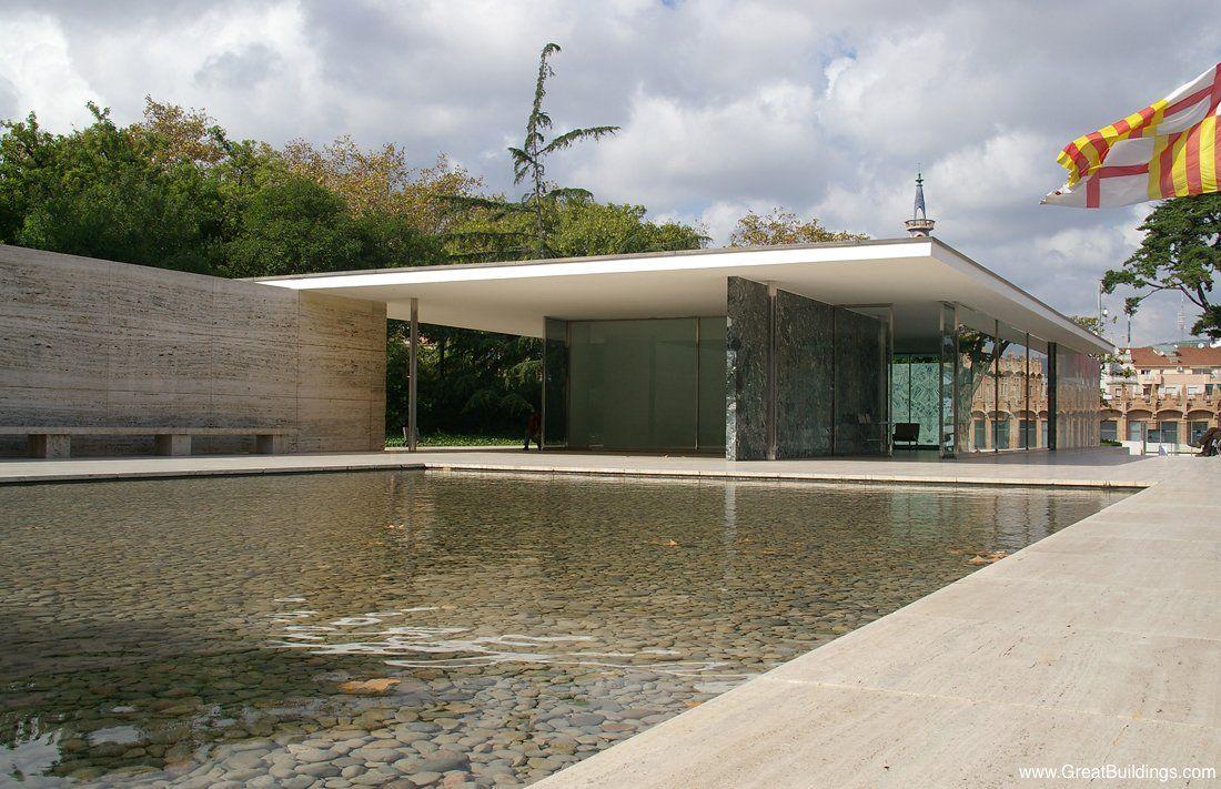 Ludwig mies van der rohe varcelona pavilion for Mies van der rohe barcelona