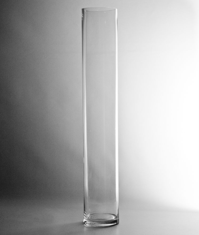 999 24 x 4 clear glass cylinder vase clear glass flower vase x clear glass cylinder vase clear glass flower vase wholesale flowers and supplies reviewsmspy