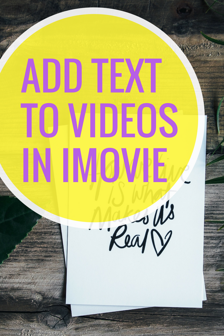 iMovie comes with many subtitle styles for you to make