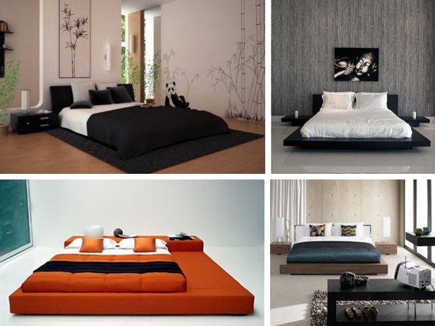 arredamento camera da letto stile giapponese