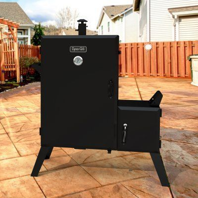 Dyna Glo Dgo1890bdc D Wide Body Vertical Offset Charcoal Smoker Dgo1890bdc D Charcoal Smoker Smoker Charcoal Bbq