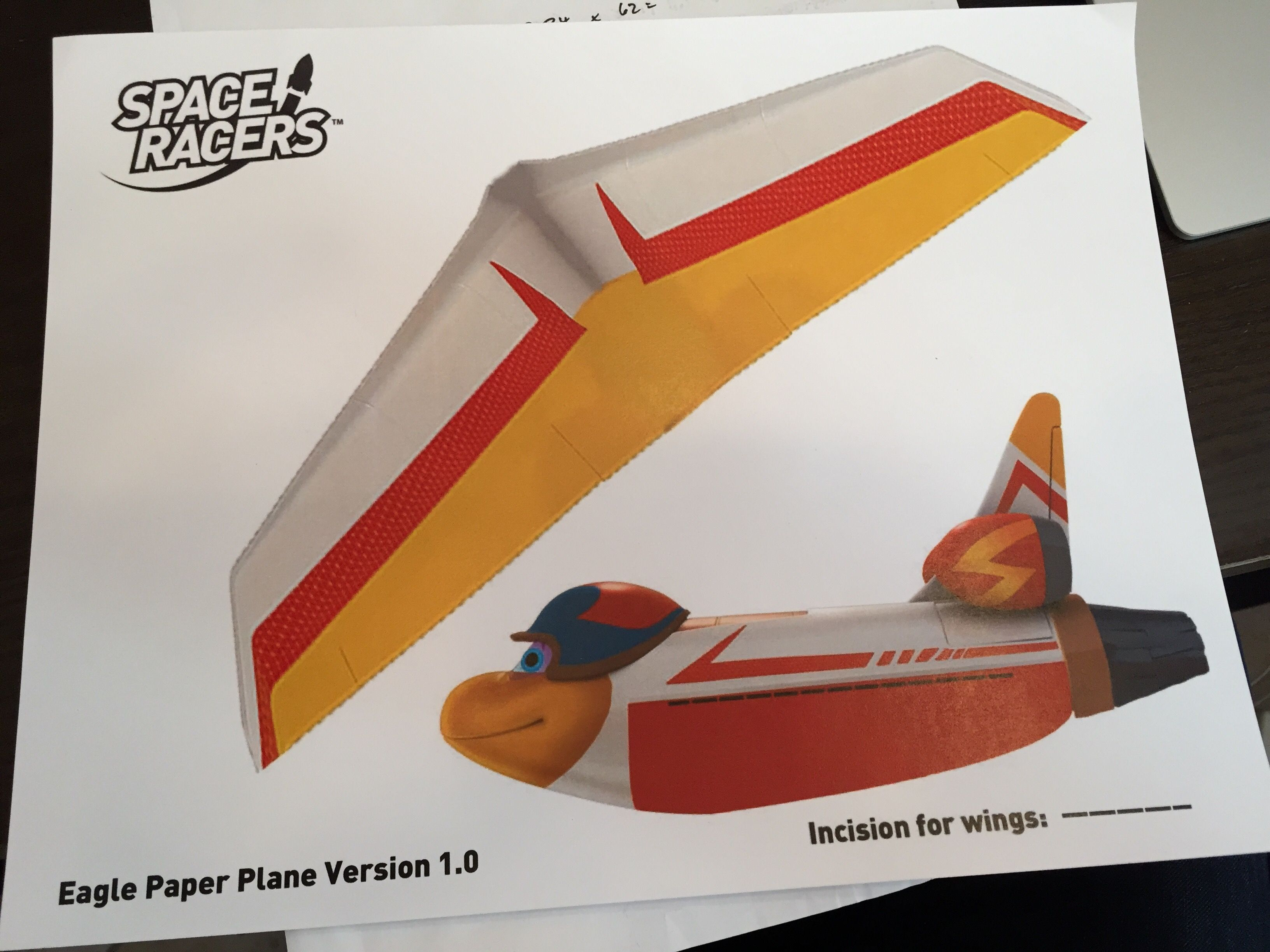 Help Us Develop The Best Eagle Paper Plane For The