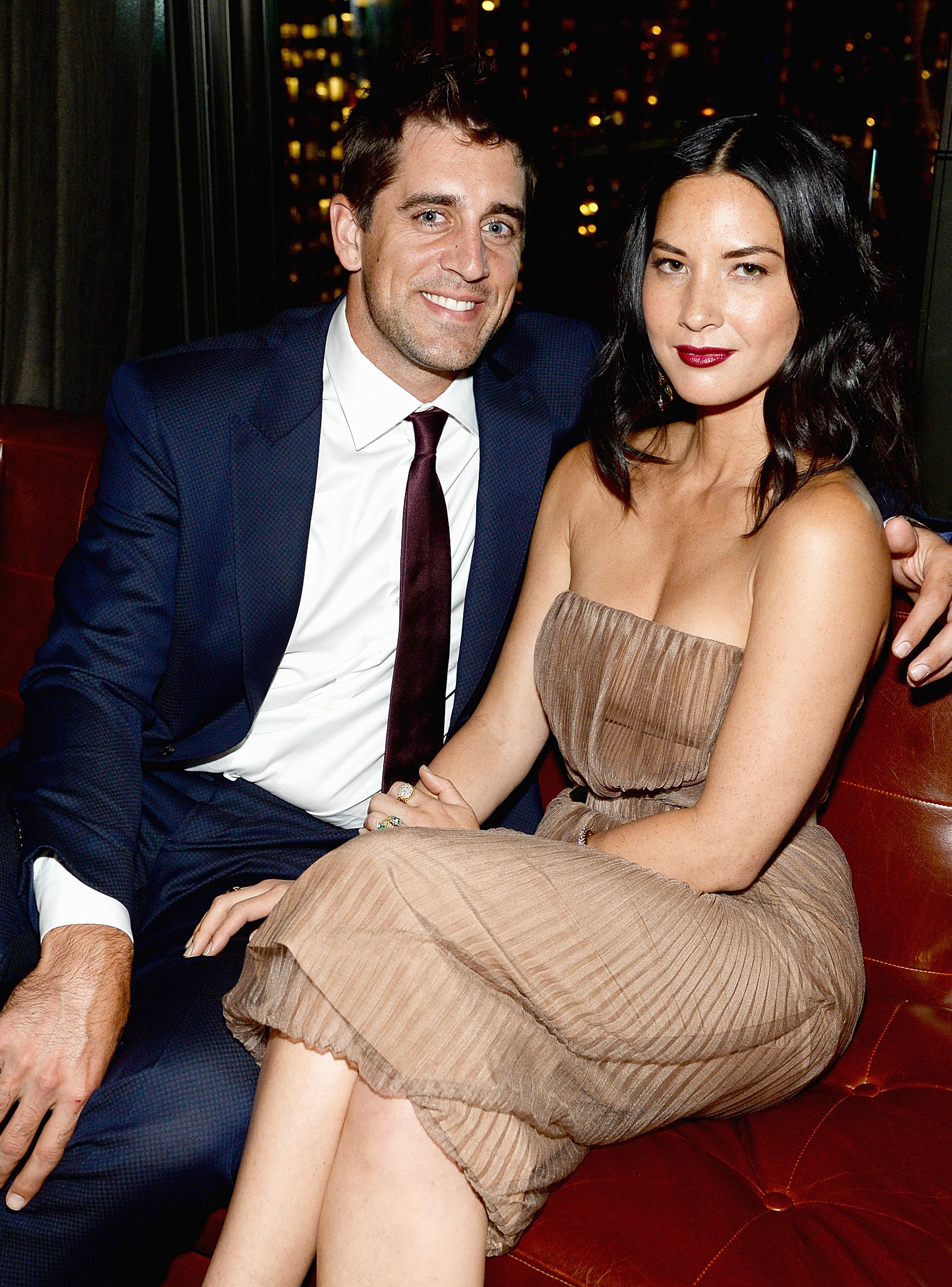 Did The Bachelorette Throw A Wrench In Aaron Rodgers Relationship With Olivia Munn Celebrities Olivia Munn Celebrity Couples