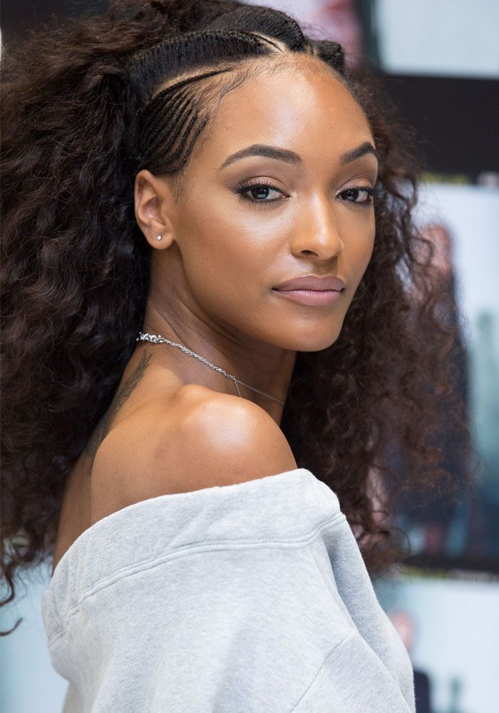 london hair style jourdan dunn celebrates the launch of the lon dunn 7032 | 112306c761271d35b7e678113e267fd1