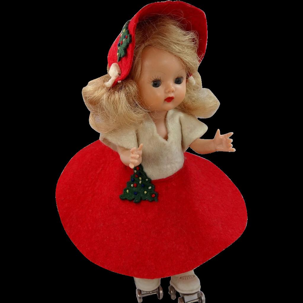 1950s Nancy Ann Muffie Doll Roller Skater Award Winner!