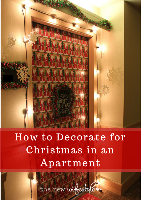 How To Decorate For Christmas In An Apartment Great Tips Small Es