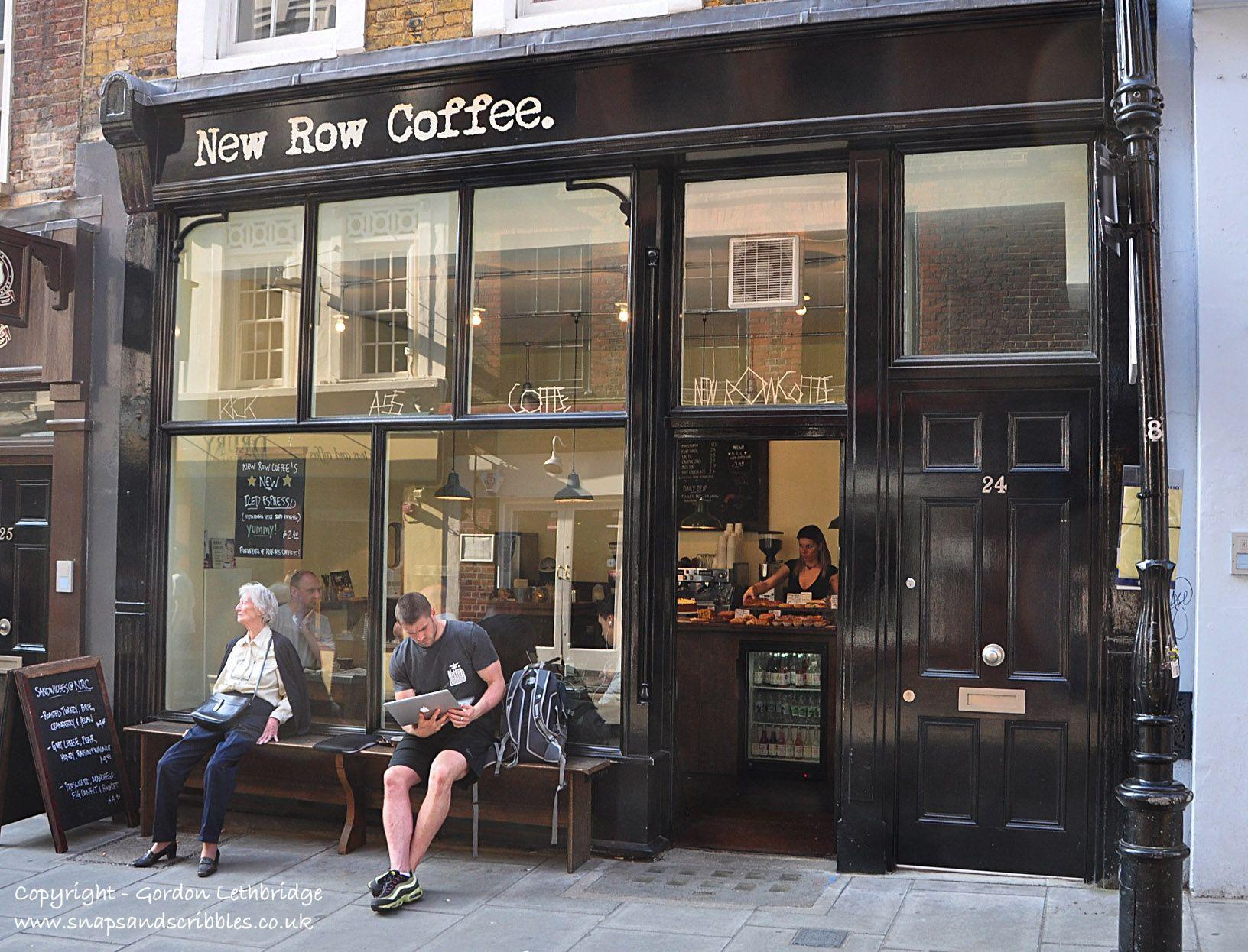 New Row Coffee, Covent Garden
