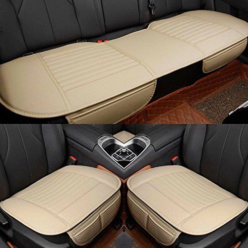 Perfect Sedeta Best Interior PU Leather Car Seat Cushion Pad Protector Mat Covers  For Sedan SUV Truck