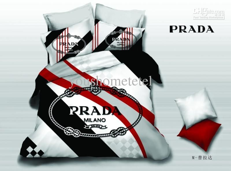Wholesale Bed In A Bag Buy Famous Brand Name Logo Printed