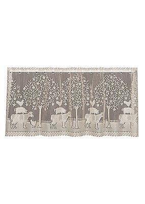 Heritage Lace Farmhouse Tier 60x24 Natural Made In Usa