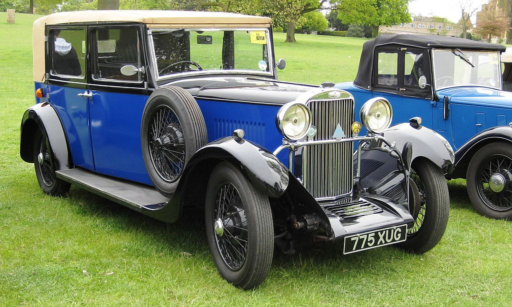 Sunbeam saloon registered July 1932 2194 cc - Sunbeam (car company ...
