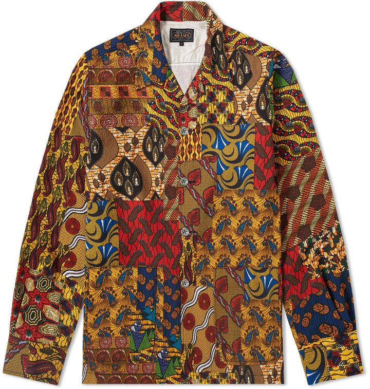 Beams Plus Batik Print Shirt Jacket In 2020