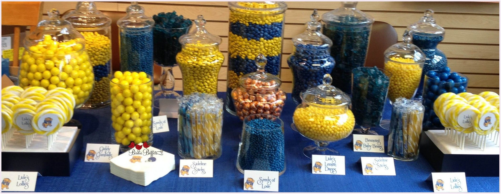 Blue And Yellow Candy Buffet All About Candy Okpdwyjabm Yellow Candy Buffet Yellow Candy Gold Candy Buffet